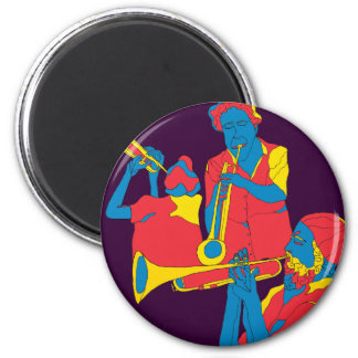 the players 2 inch round magnet