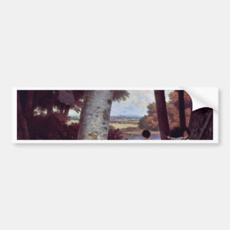 The Playground By Jacques Laurent Agasse (Best Qua Bumper Stickers