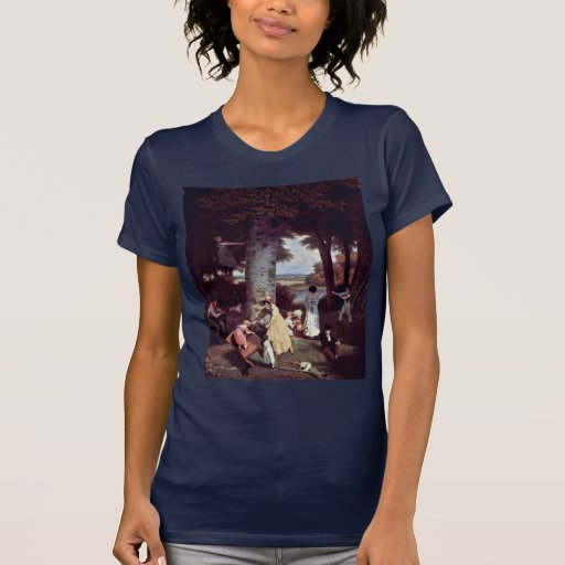 The Playground By Jacques Laurent Agasse (Best Qua T Shirt