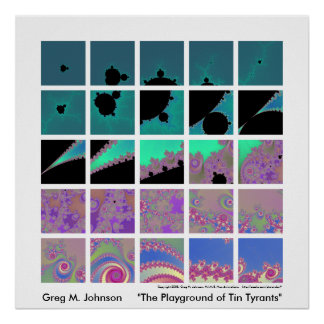 The Playground of Tin Tyrants Poster