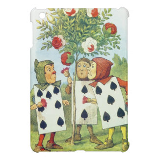 The Playing Cards Painting the Rose Bush iPad Mini Case