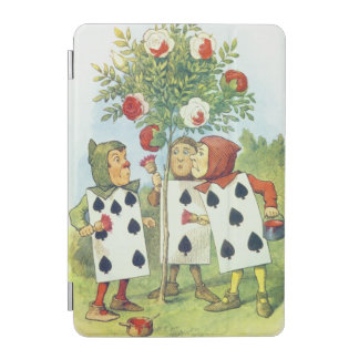 The Playing Cards Painting the Rose Bush iPad Mini Cover