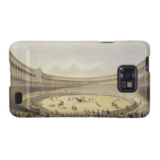 The Plaza de Toros of Madrid, 1865 (colour litho) Samsung Galaxy S2 Case