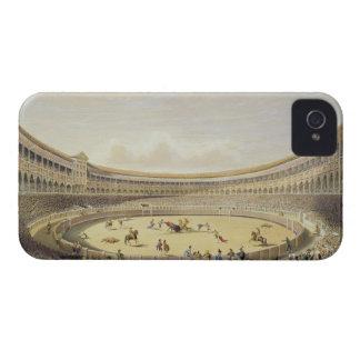 The Plaza de Toros of Madrid, 1865 (colour litho) iPhone 4 Case-Mate Case