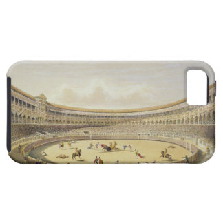 The Plaza de Toros of Madrid, 1865 (colour litho) iPhone SE/5/5s Case