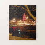 """The Plaza Lights Jigsaw Puzzle<br><div class=""""desc"""">In Kansas City,  Missouri the Country Club Plaza provides a parade of miles of Christmas Light throughout the season.</div>"""