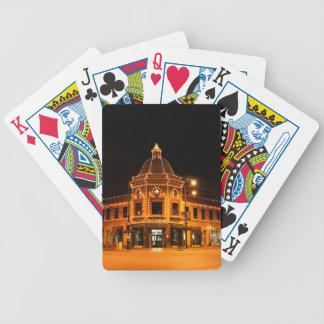 The Plaza Lights of Kansas City Bicycle Poker Deck
