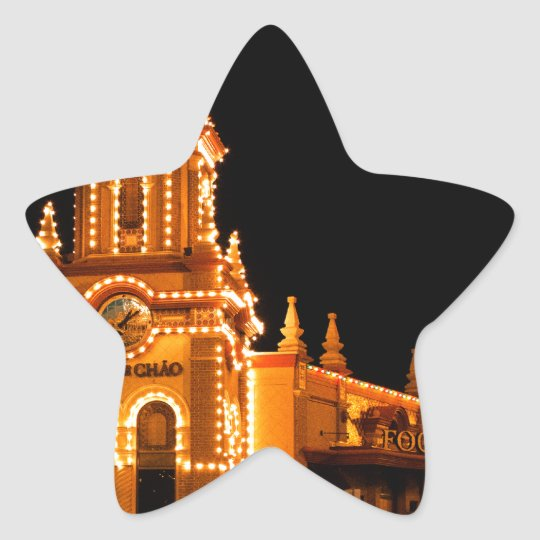 The Plaza Lights Star Sticker
