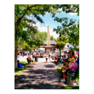 The Plaza Santa Fe New Mexico Postcard