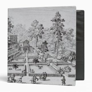The pleasure garden and Pavilion of Pope Pius IV ( Binder