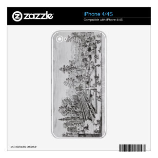 The pleasure garden and Pavilion of Pope Pius IV ( Decal For iPhone 4