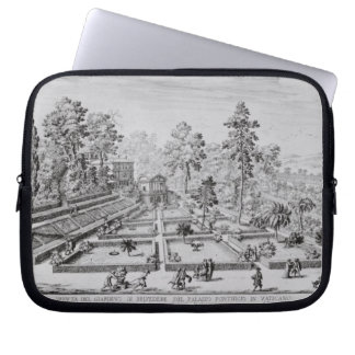 The pleasure garden and Pavilion of Pope Pius IV ( Laptop Computer Sleeve