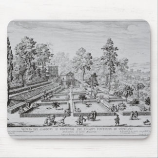 The pleasure garden and Pavilion of Pope Pius IV ( Mouse Pad