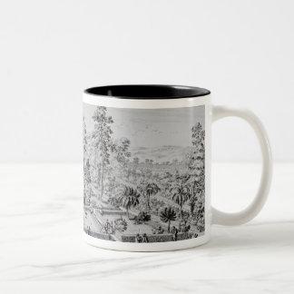 The pleasure garden and Pavilion of Pope Pius IV ( Coffee Mugs