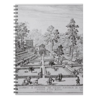 The pleasure garden and Pavilion of Pope Pius IV ( Notebook