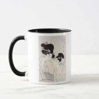The pleasure of conversation mug