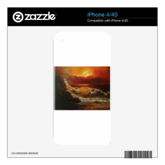 The PLEASURE OF the ATARDECER_result.JPG Skin For iPhone 4