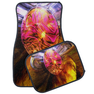 The Pleasure Palace abstract Car Mat