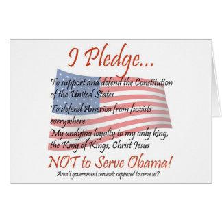 The Pledge - Christian Card