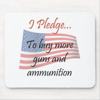 The Pledge - Guns Mousepads