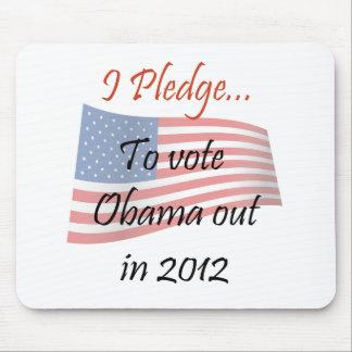 The Pledge - Obama Vote Mousepad