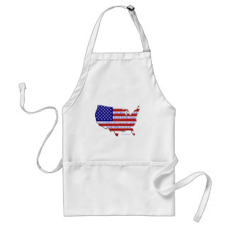 The Pledge of Allegiance Adult Apron