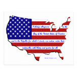 The Pledge of Allegiance Post Cards