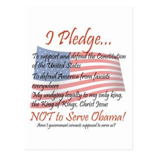 The Pledge Postcard