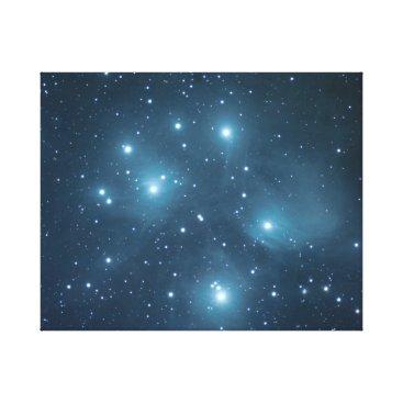 Art Themed The Pleiades #6 Canvas Print