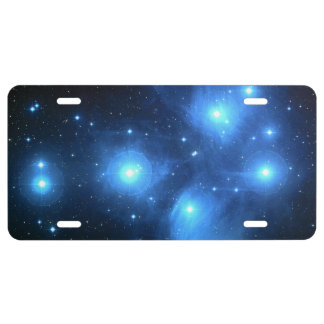 The Pleiades License Plate