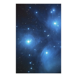 The Pleiades star cluster Customized Stationery