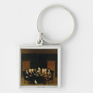 The Plenipotentiaries at the Congress of Baden Keychain