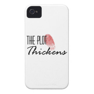 The Plot Thickens iPhone 4 Case