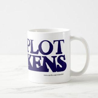 The Plot Thickens Mug