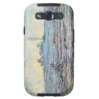 The Plough and the Harrow by Vincent Van Gogh Galaxy SIII Case