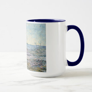 The Plough and the Harrow by Vincent Van Gogh Mug