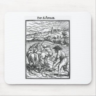 The Plowman by Hans Holbein the Younger Mouse Pad