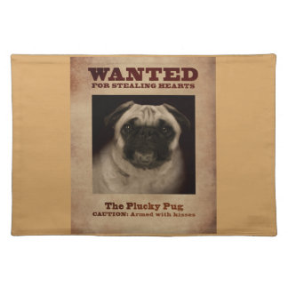 The Plucky Pug Placemat
