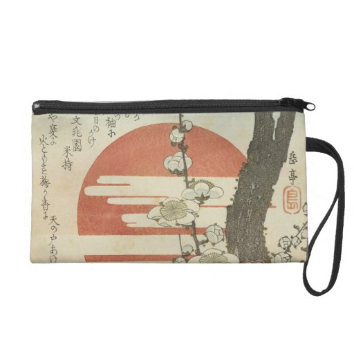 The Plum Tree and The Rising Sun Wristlet