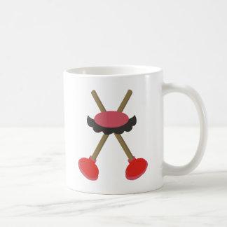 The Plumber Bros Stache Coffee Mug