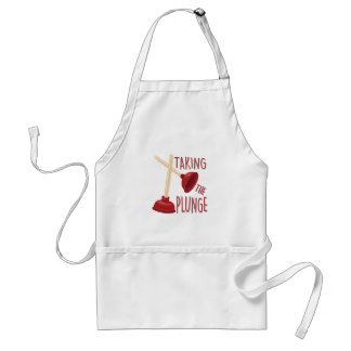 The Plunge Adult Apron