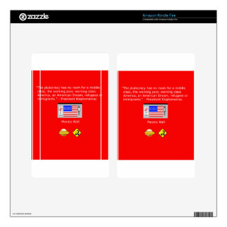 The Plutocracy in America Kindle Fire Skin