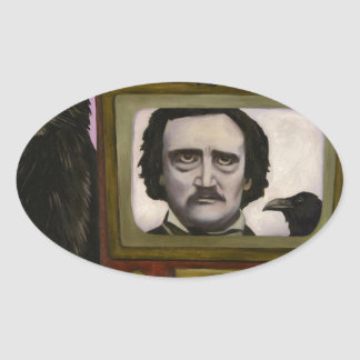 The Poe Show Oval Sticker