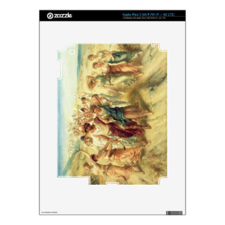 The Poet Anacreon (570-485 BC) with his Muses, 189 iPad 3 Skin