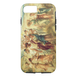 The Poet Anacreon (570-485 BC) with his Muses, 189 iPhone 8/7 Case