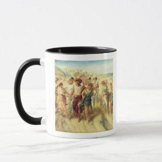 The Poet Anacreon (570-485 BC) with his Muses, 189 Mug