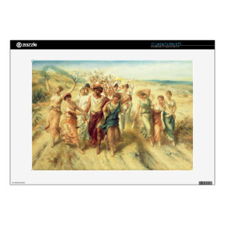 "The Poet Anacreon (570-485 BC) with his Muses, 189 Skins For 15"" Laptops"