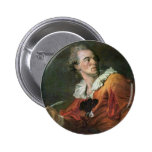 The Poet By Fragonard Jean-Honoré (Best Quality) Pinback Buttons
