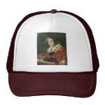The Poet By Fragonard Jean-Honoré (Best Quality) Trucker Hats