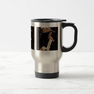 The Poet By Schiele Egon Coffee Mug